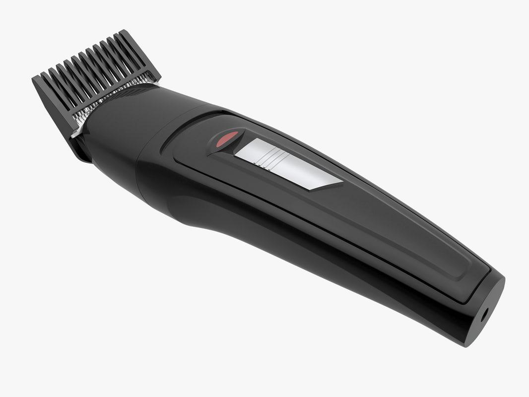 3d model electric shaver