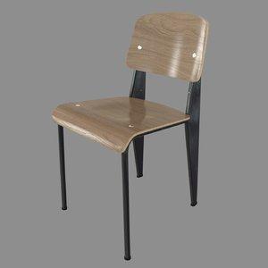 standard chair 3d obj