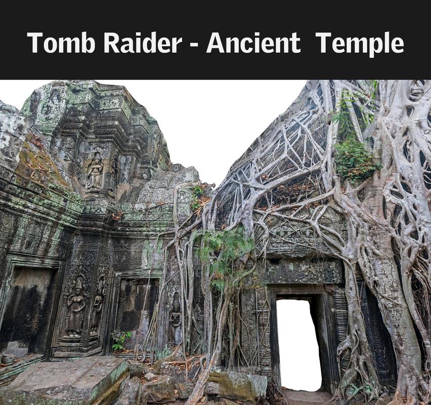 3d max ancient tree temple 16