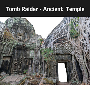 3d max ancient tree temple 16
