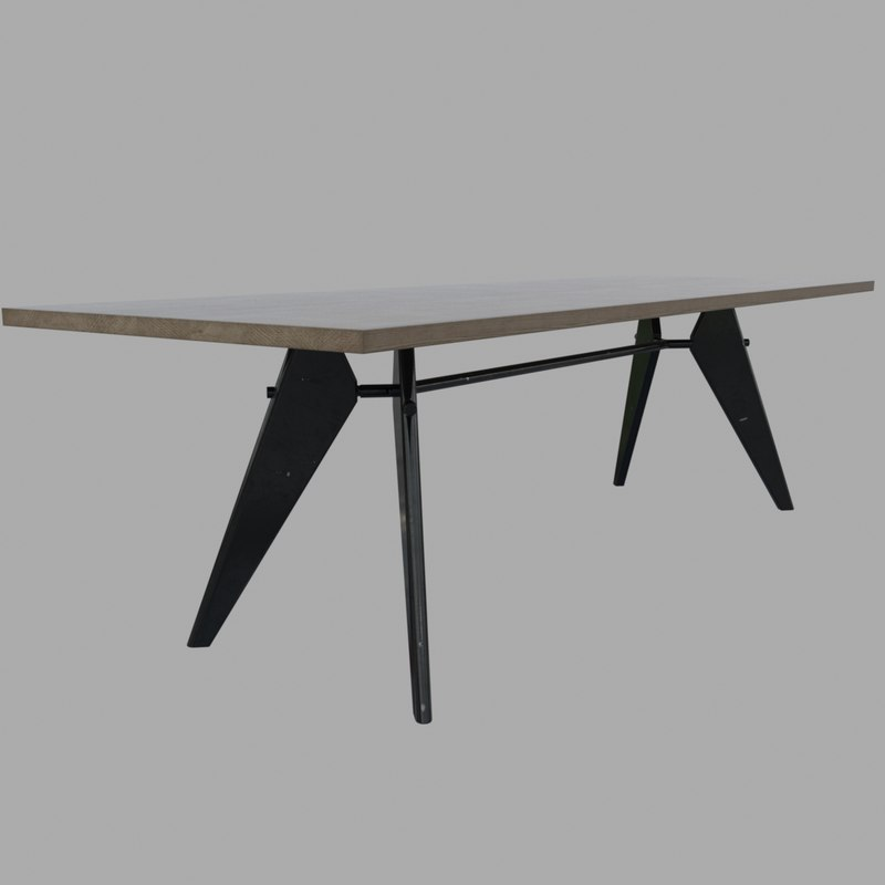 3d model em table