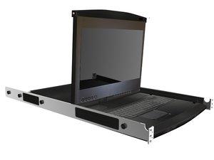 kvm tray 3d model