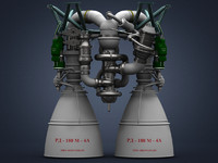 Custom rocket engine RD-180