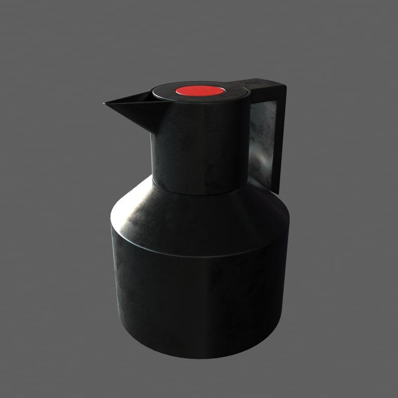 geo vacuum jug 3d model