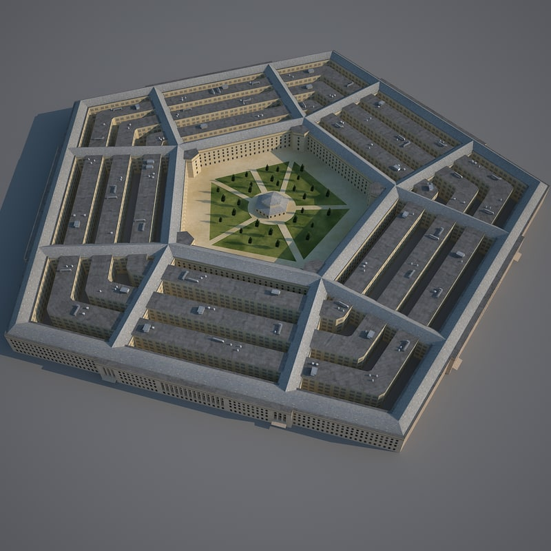 3d pentagon
