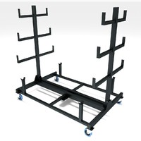pipe rack mobile 3d model