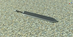 3d sword guts model