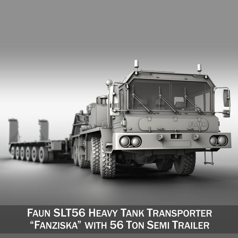 3d model faun stl-56 - heavy