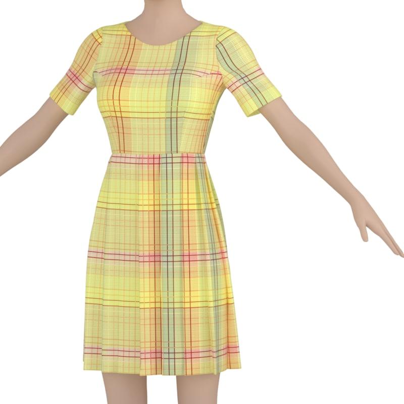 3d clothes body