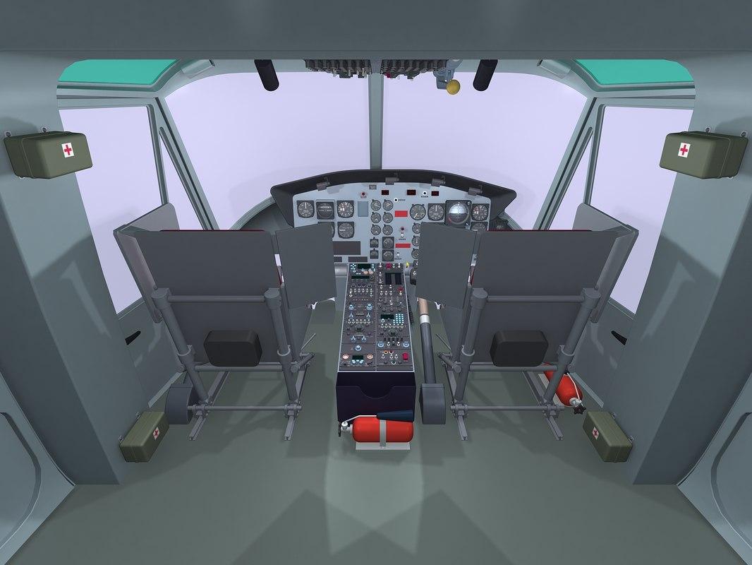 bell uh-1h cockpit max