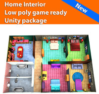 3d model interior games home ready
