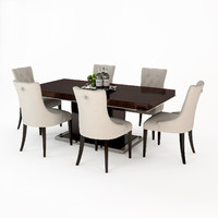 eichholtz dining table park 3d model