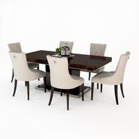 eichholtz dining table park 3d model