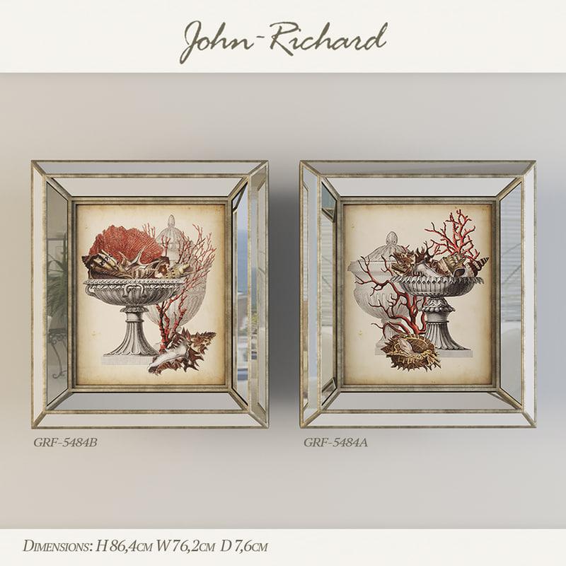 3d john richard model