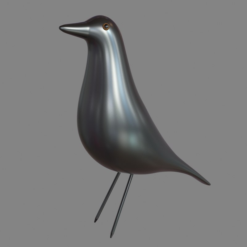 eames bird 3d 3ds