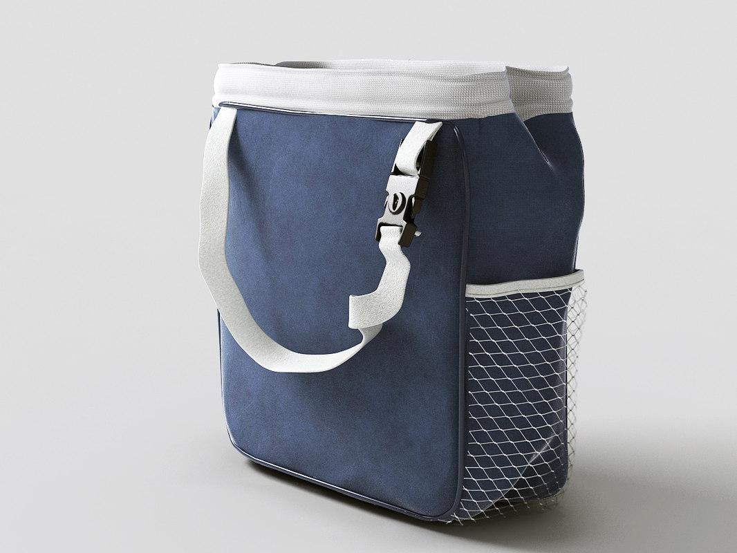 3d model lunch box
