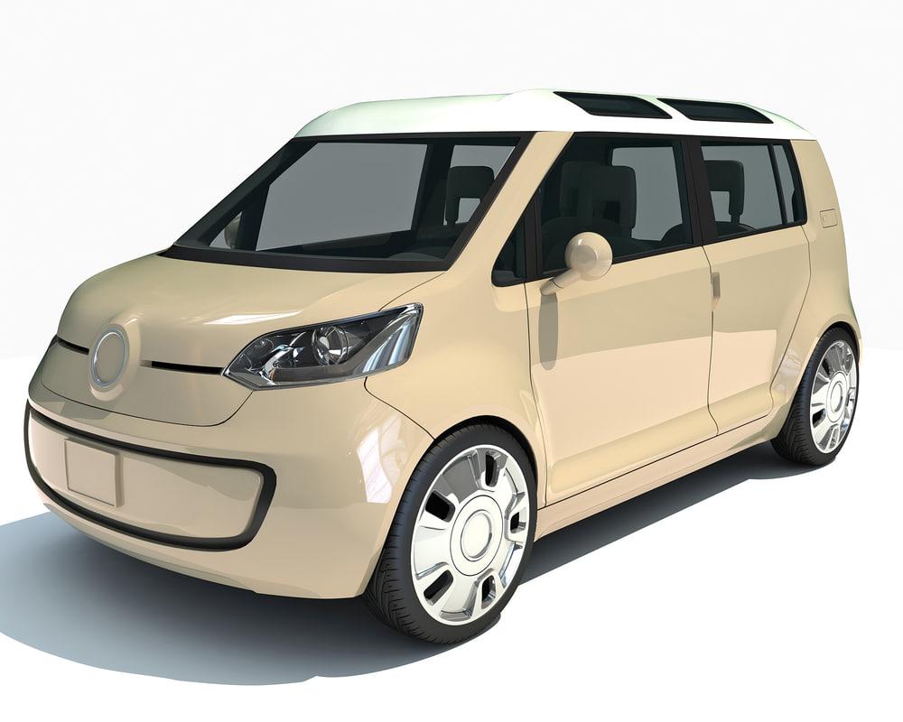 3d mini car