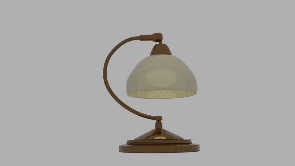 roland table lamp 3d 3ds