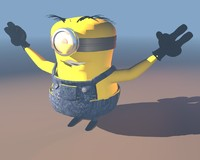 minion   despicable me.c4d