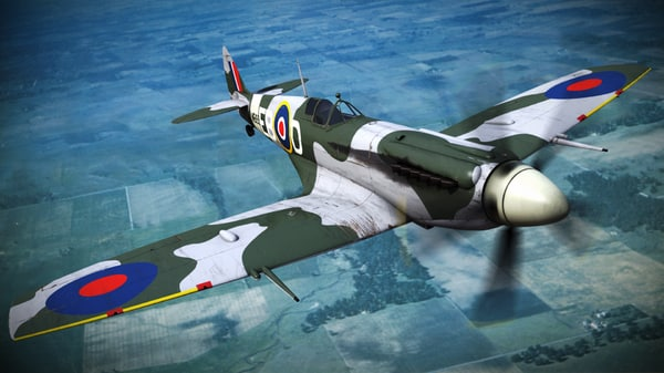 supermarine spitfire squadron aircraft x
