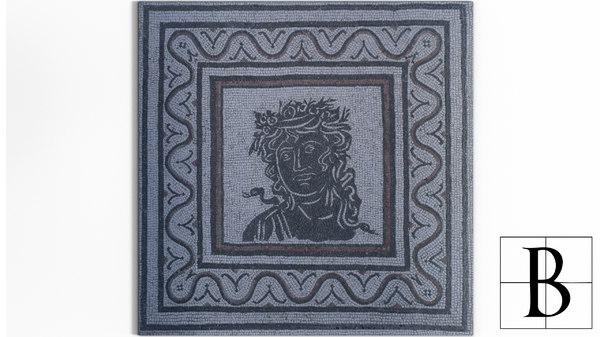 mosaic 3d model
