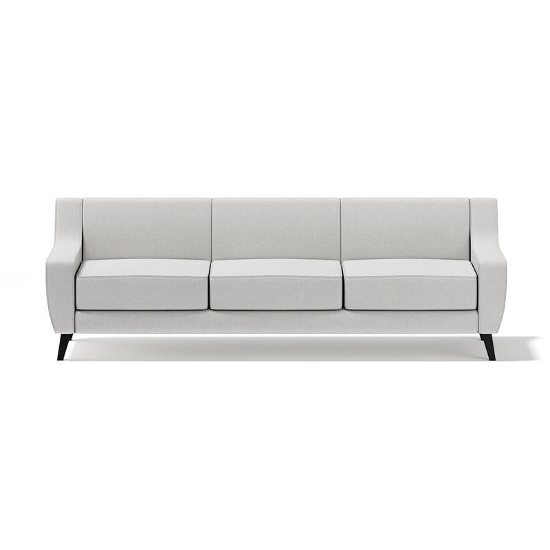 light-grey seat sofa 3d max