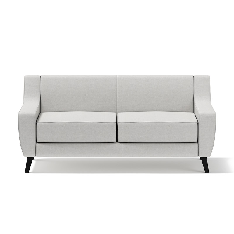 light-grey seat sofa 3d c4d