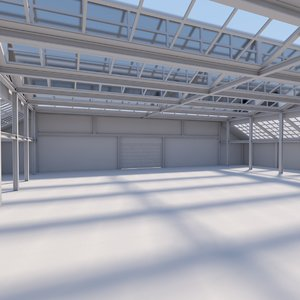 warehouse scene real max