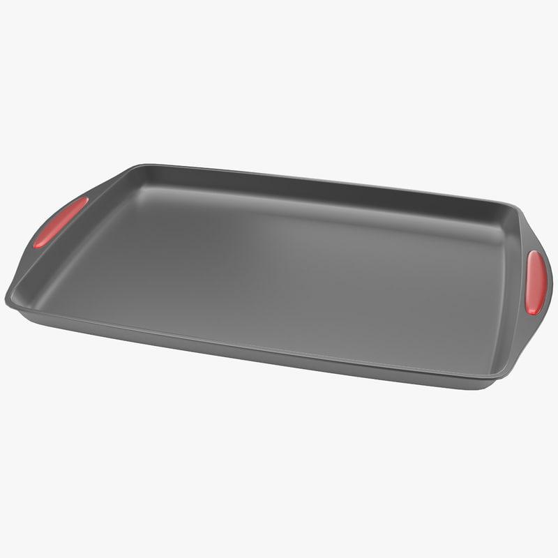 3d model tray