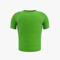 3d max male t-shirt