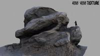 3d model mount rock