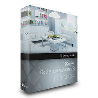 CGAxis Models Volume 68  Furniture V
