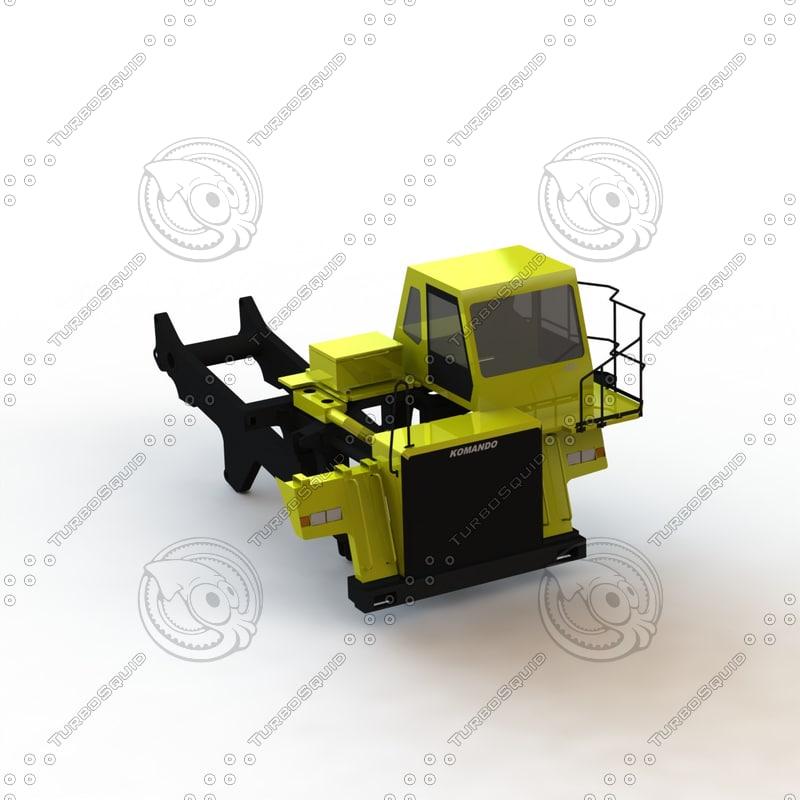 3d komatsu hd465 model