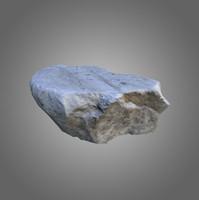 rock low-poly 3d 3ds