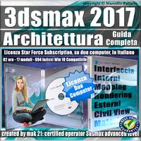 Corso 3ds max 2017 Architettura Guida Completa Subscription 2 Computer