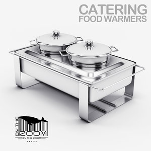 3d max catering food warmers
