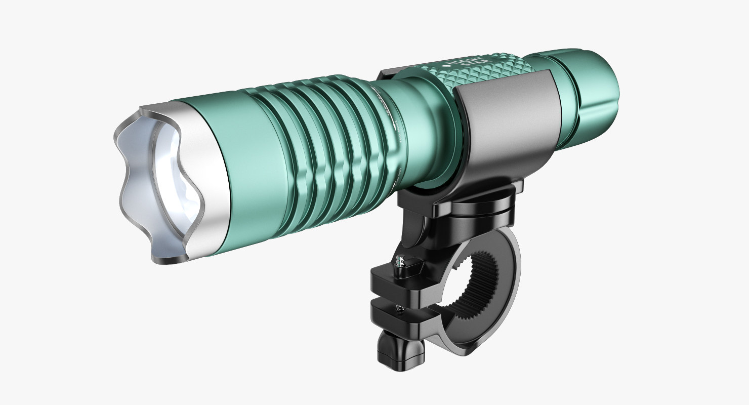 3d flashlight bicycle