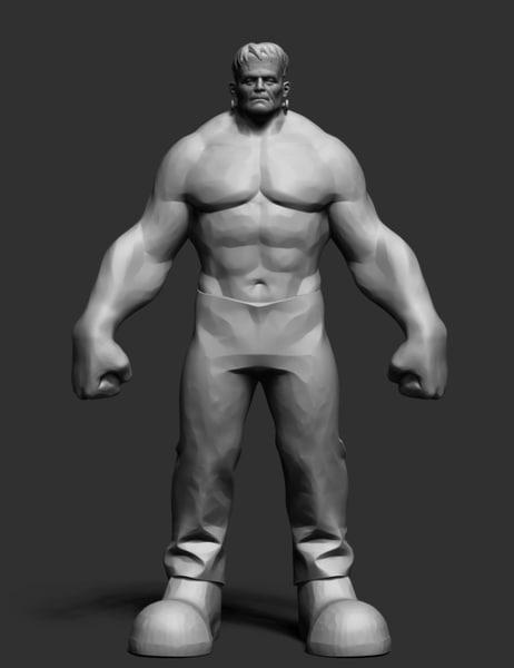 hulkenstein anatomy ztl obj