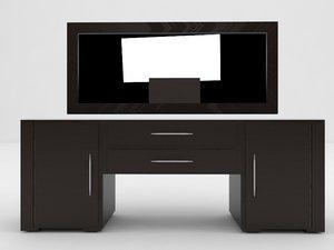 2nd piece bedroom 3d model