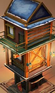 home cartoon 3d x