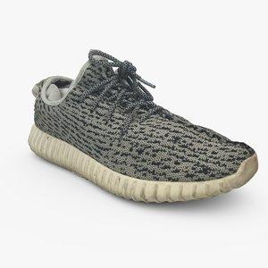 3d yeezy shoes model