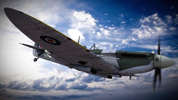 supermarine spitfire squadron aircraft lwo