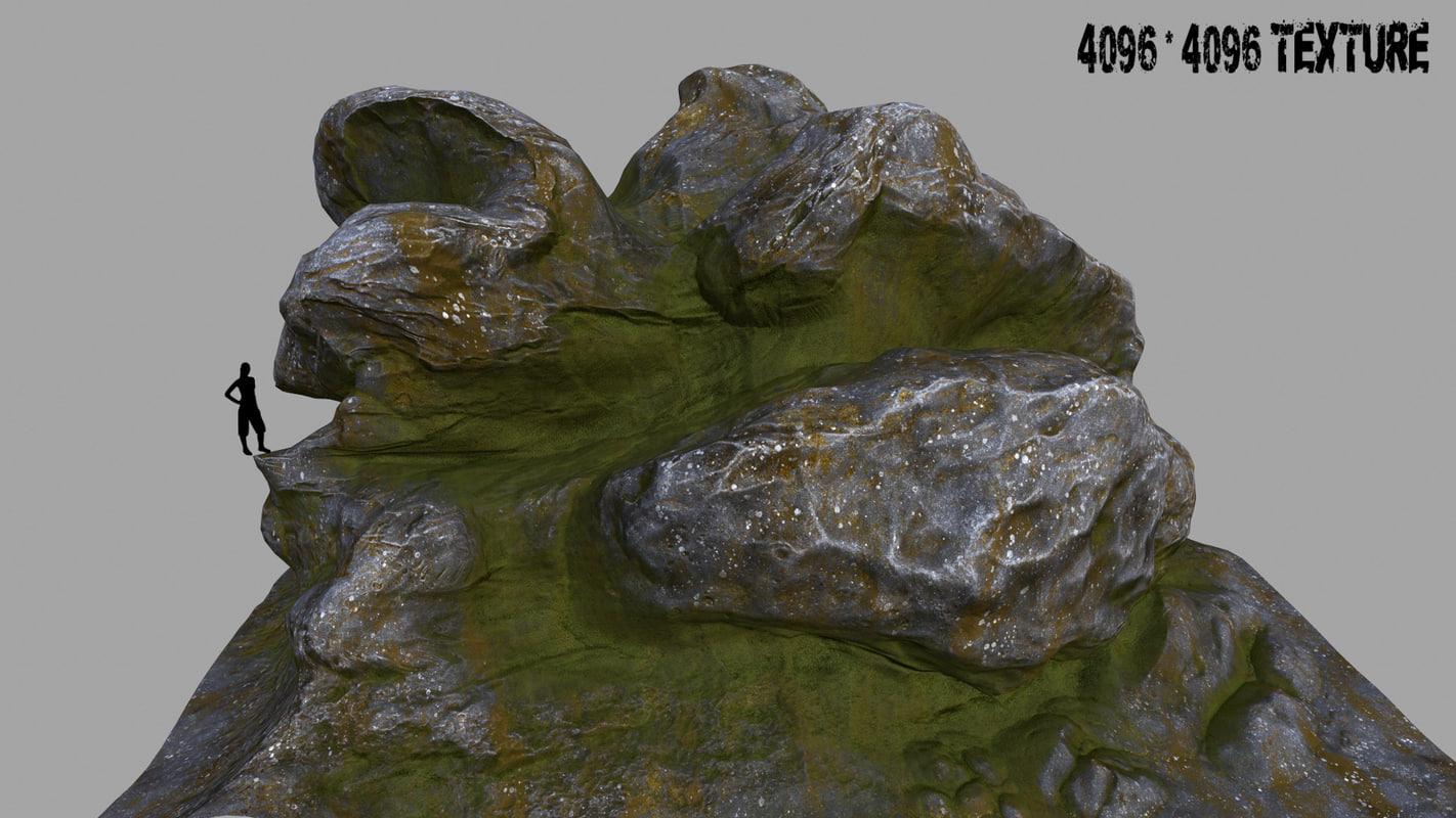 3d mount rock