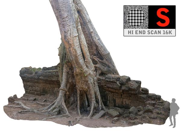 jungle tree ultra hd 3d model