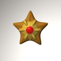 staruy pokemon 3d model