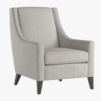 Mitchell Gold Cara Tall Chair