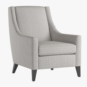 armchair cara 3d max