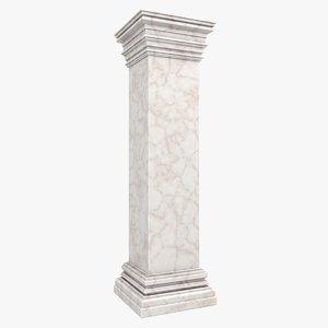3d model column 06