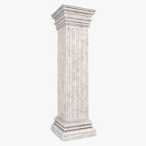3d model column 05