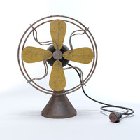 Old Worn Fan